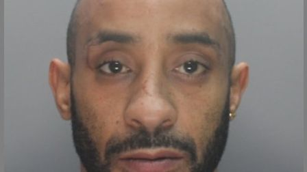 Shaun Camps, who is aged 43 and from Stevenage, is wanted by police in connection with a harassment