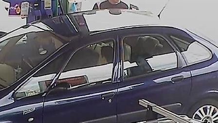 Police would like to speak to this man in connection to a number of fuel thefts, including three in