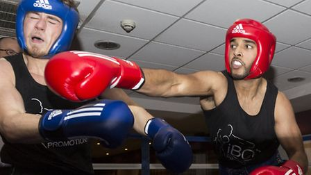 Charity boxing night in aid of Billy's Wish at the Holiday Inn, Stevenage Tigz Rice Studios 2014.