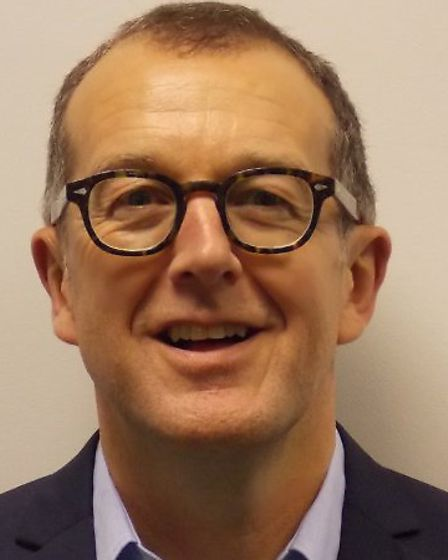 North Hertfordshire Homes chief executive Gavin Cansfield.