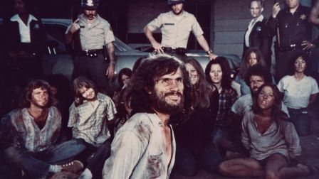 Steve Railsback as Charles Manson in Helter Skelter, 1976. Picture: Getty Images