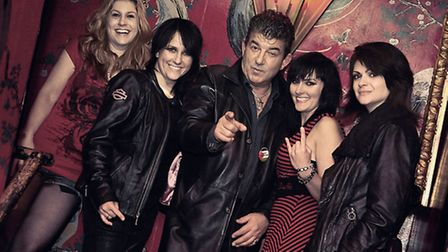 Former EastEnders star John Altman will be sharing a stage at Hitchin's Club 85 with all-girl rocker