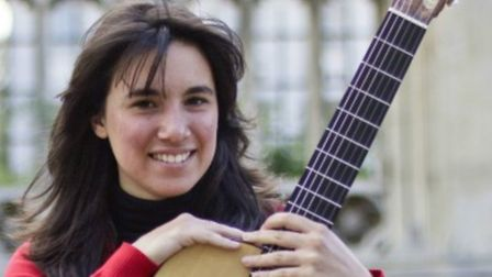 Young Argentinian guitarist Daniela Rossi is appearing in Weston