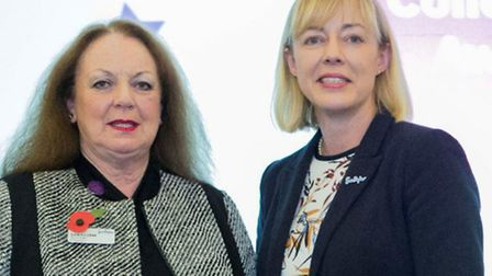 Jackie Camfield is a volunteer at Sue Ryder – Stagenhoe who has won an outstanding contribution awar
