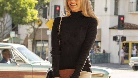 Margot Robbie as Sharon Tate in One Upon A Time in Hollywood, 2019. Picture: Getty Images