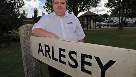 Arlesey Town Council chairman Mick Holloway.