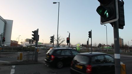 The alleged road rage incident and assault occured close to Asda on Monkswood Way in Stevenage.