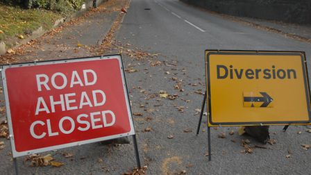 Thaxted Road closure