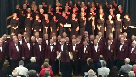 Stevenage Ladies Choir raised more than £500 at a charity concert at The Barclay School with special