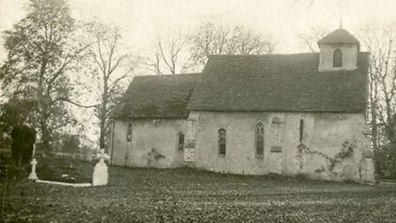 Letchworth Old Church. Credit: Garden City Collection