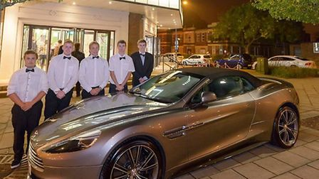 The team at Broadway Cinema were on hand to welcome guests to the premiere of Spectre with a fleet o
