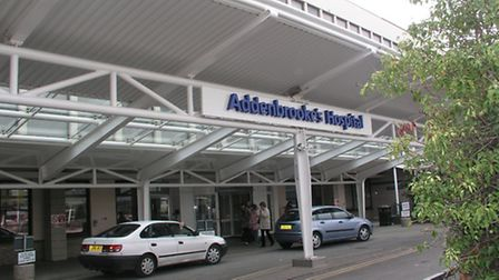 Mr Sutcliffe was treated at Addenbrooke's Hospital