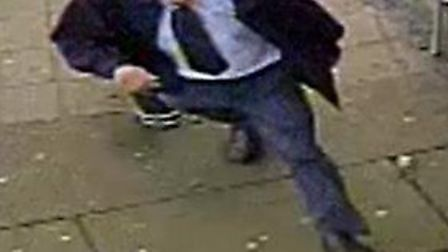 Have you seen this man? Police would like to speak to him about a theft of money from the Rose and C