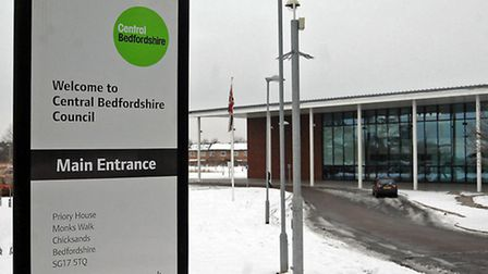 Central Bedfordshire council offices