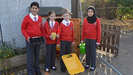 Pupils from William Ransom Primary School are all set to grow seeds from space