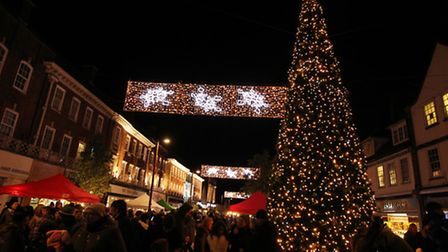 Letchworth Christmas Lights Switch-On 2015