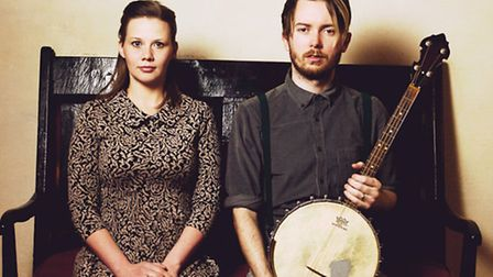 Husband and wife folk duo Megson appear at Hitchin Folk Club in November. Picture by Ellie Lucas