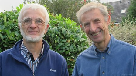 Mike Clarke and Bill Sellicks