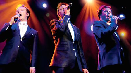 Tenors Unlimited perform at the Gordon Craig Theatre in February 2016