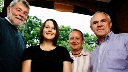 The Albion Christmas Band play Hitchin Folk Club