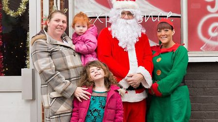 Christmas grotto in aid of Kadoma Kidz in Stevenage, Picture by Martin Malocco Photography