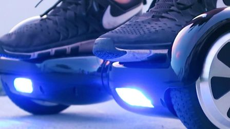Trading standards experts have warned buyers to take care if they'replanning to put a hover board in