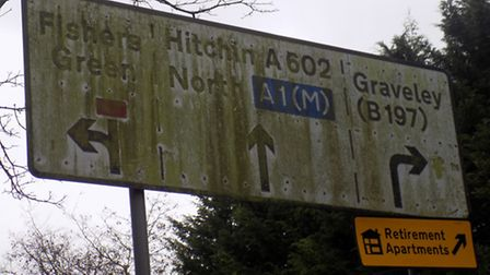 After a visitor to the area cleaned up one road sign because it was so grimy, plenty of other exampl