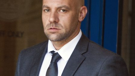 PC Simon Salway is on trial at Luton Crown Court after being charged with seven counts of misconduct