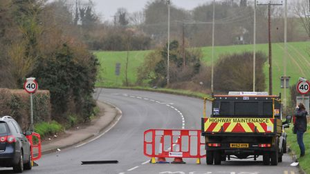 A road in Baldock has reopened more than 24 hours after car collides with pylon.
