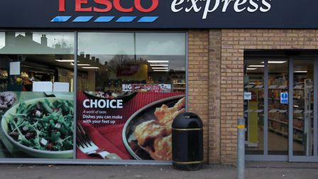 A man has been charged following a robbery at Tesco Express in Letchworth.