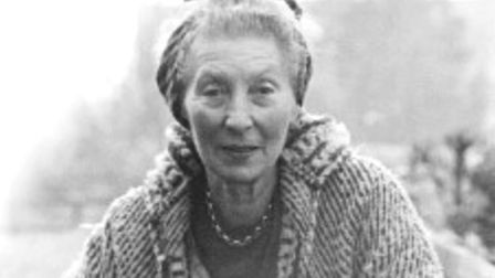 Stevenage musician and composer Elizabeth Poston, who once lived at Rook's Nest House. Picture court