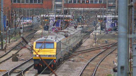 Trains were delayed this morning after a trespass incident at Knebworth.