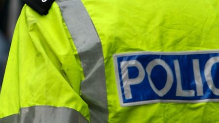A man from Stevenage has been arrested in connection with criminal damage of two caravans at a trave
