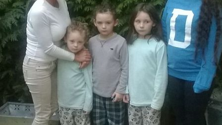 Geraldine Devlin and her four children have nowhere to live after their home was vandalised.