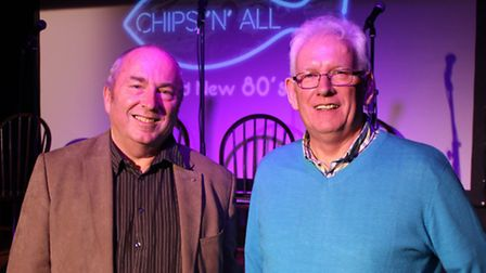 Alan Doggett and Stuart Virgo have developed a script for a jukebox musical called Chips'N'All