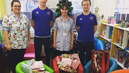 Thanks for giving us a lift at Christmas - staff at the Lister Hospital say thanks for all the seaso