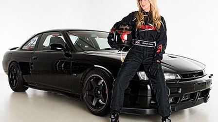 Glamour model Michelle Westby is a tomboy at heart and a serious competitor on the drifting scene. P