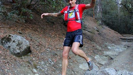 Steven Muir took second place in the Cyprus Ultra Marathon in memory of his cousin Karen Woo.