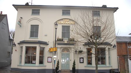 The Temeraire pub, which was burgled in the early hours of the morning
