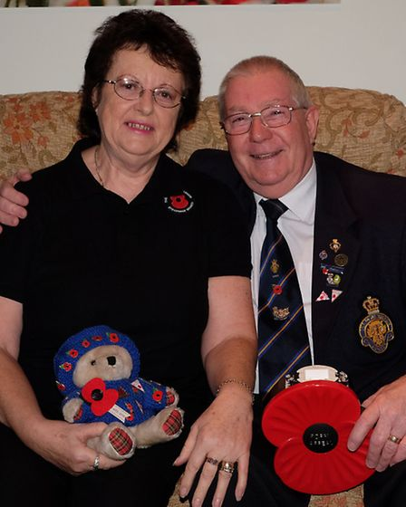 Pat and Richard Mott raised about £750,000 in their seven-year tenure as Stevenage Poppy Appeal orga