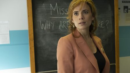Hayley Atwell as Ms Clay in 'Blinded By The Light'. Picture: Entertainment One/Getty Images