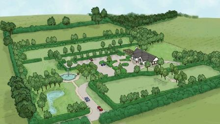 Plans to build the North Herts Memorial Park have been approved by North Herts District Council.