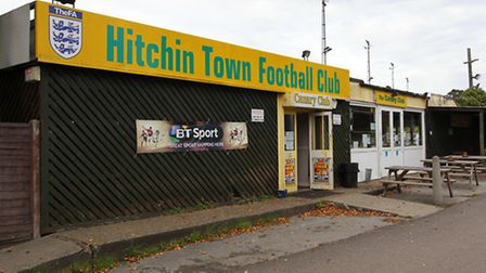 Top Field home of Hitchin Town FC