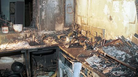The aftermath of a string of kitchen fires has prompted safety advice from Bedfordshire's fire and r