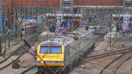 A teenager collapsed at Stevenage railway station this morning and has since been taken to Lister Ho