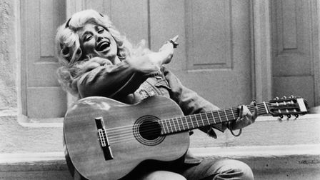 Dolly Parton - the queen of country music - pictured in 1970. Picture: Getty Images