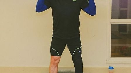 Kevin Brennan has been busy preparing for his 24 hour treadmill challenge.