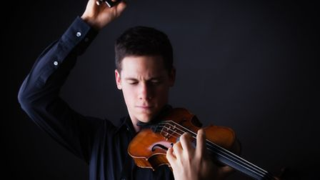 Violin prodigy Callum Smart is the soloist at Letchworth Sinfonia's January concert. Picture by Patr