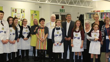 Young Chef Competition at Saffron Walden.