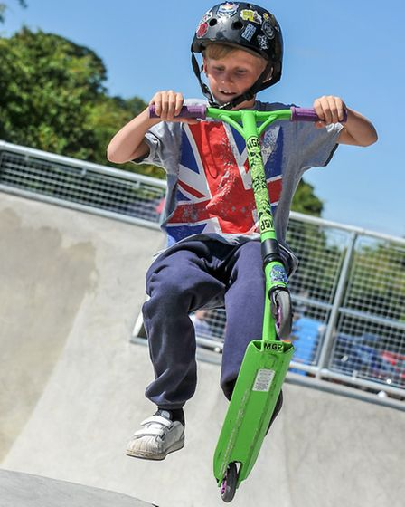 Stansted Skate Park opening.